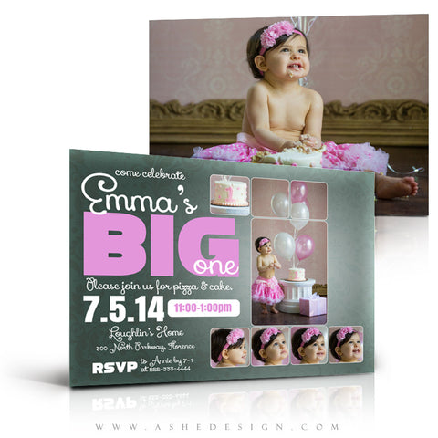 First Birthday Invitation Templates | The Big One