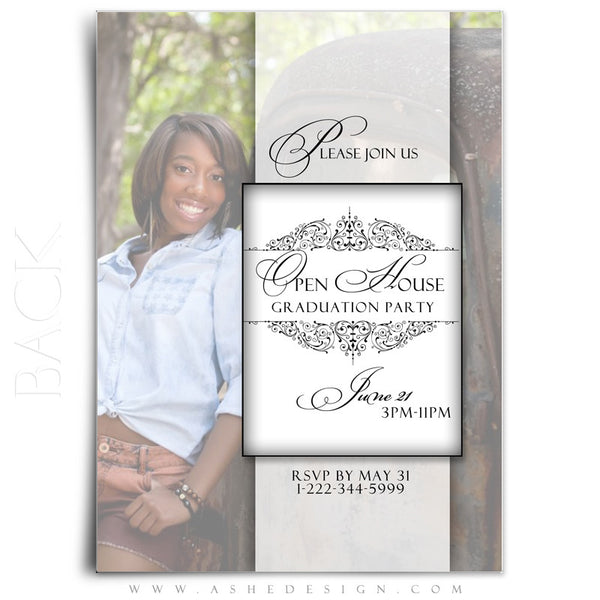 Simply Classic 5x7 Flat Card Back web display