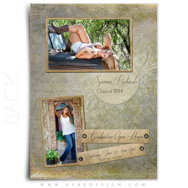 Days To Remember -5x7 Flat Card Back web display