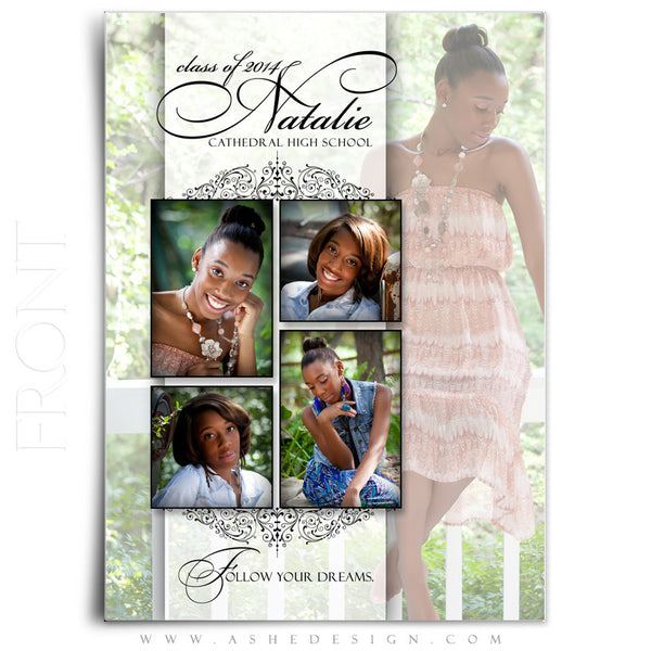 Simply Classic 5x7 Flat Card Front web display