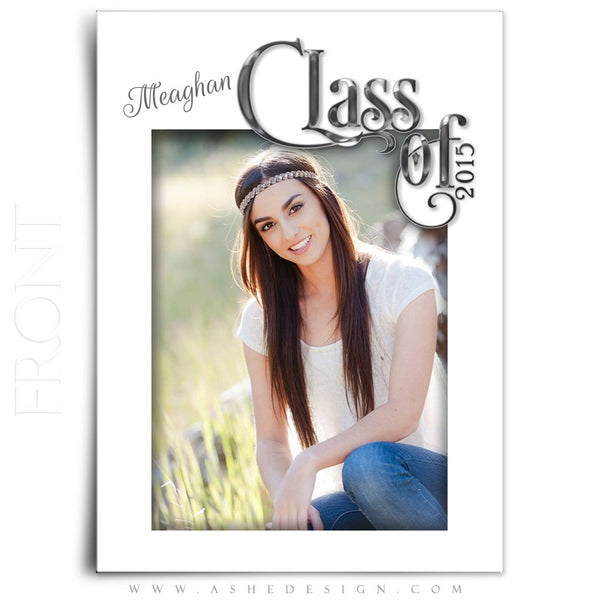 Senior Graduation Template | Simply Worded Grad front