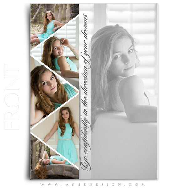 Pennant 5x7 flat card front web display