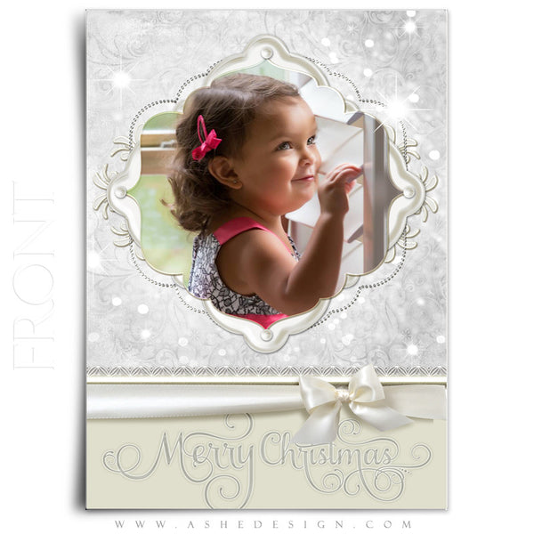 Snow Babies 5x7Flat Card front web display