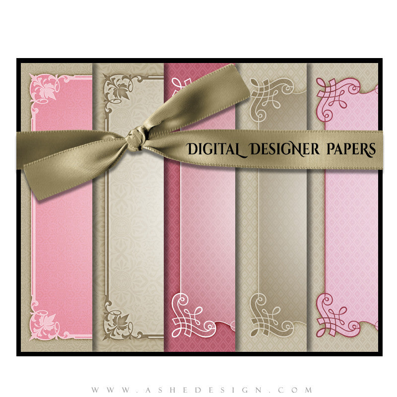 Elegant Edges Designer Paper Set