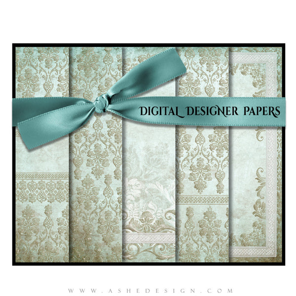 Tiffany Damask Designer Paper Set