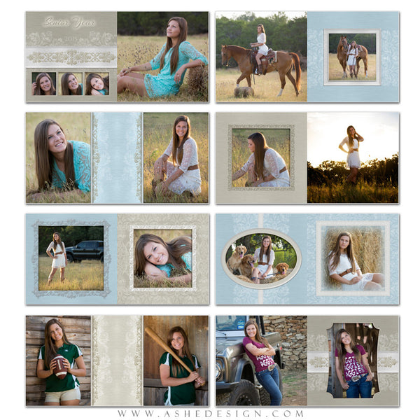 Photo Book 12x12 Template | Imagine pages
