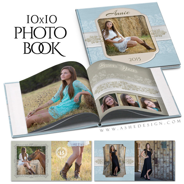 Senior Girl 10x10 Photo Book | Imagine cover