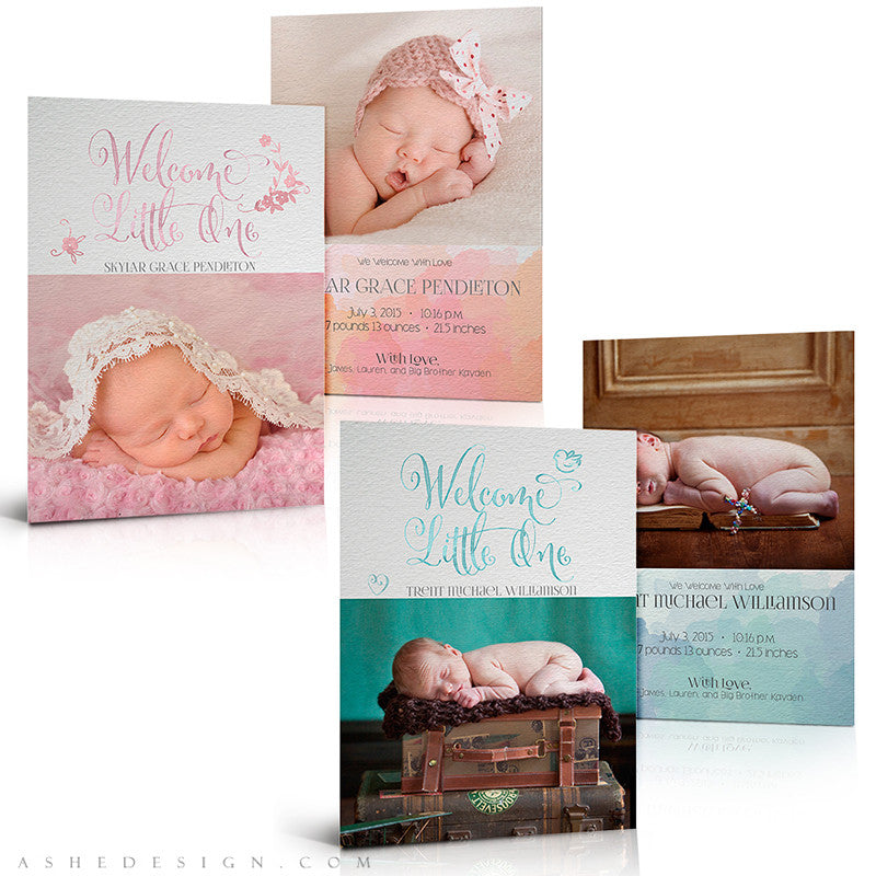 Birth Announcement Set | Simply Baby Skylar/Trent
