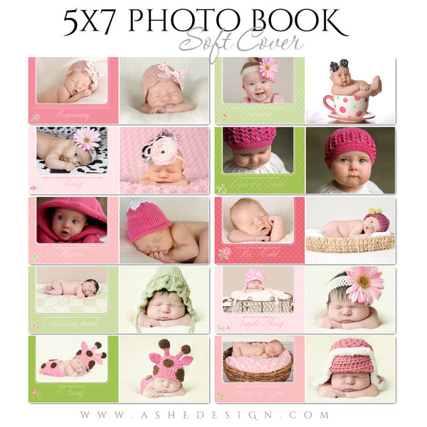 Photo Book 5x7 Soft Cover | Bella Rose pages
