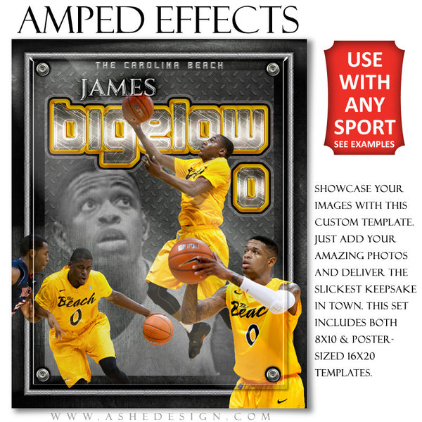 Ashe Design | Amped Effects Templates | On Display bkb