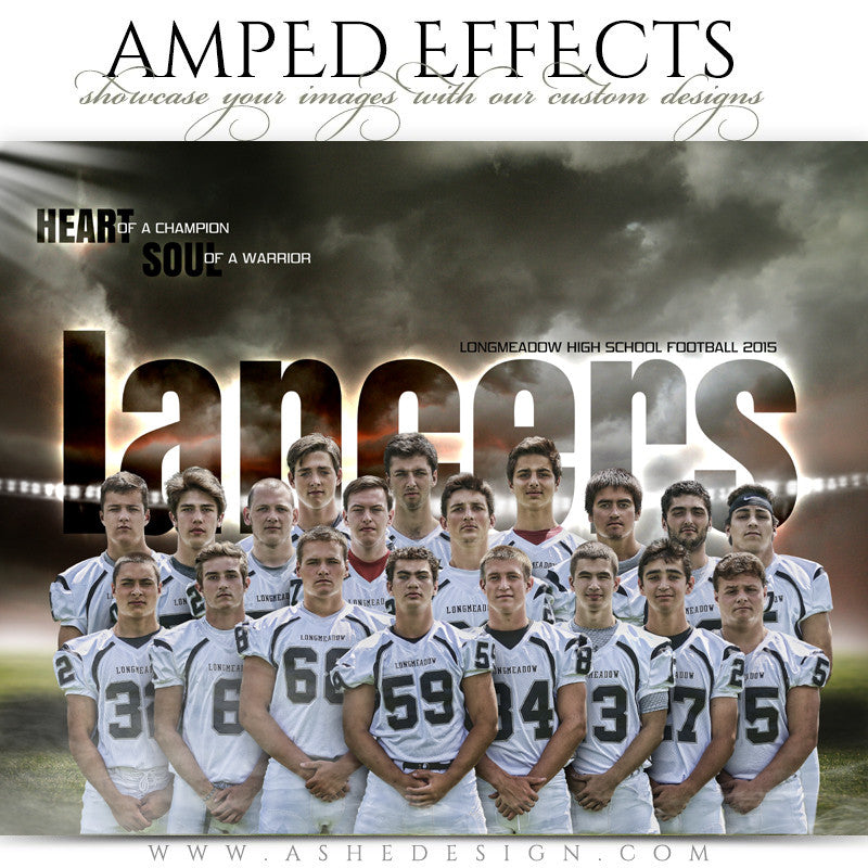 Amped Effects Sports Templates | Heart Of A Champion