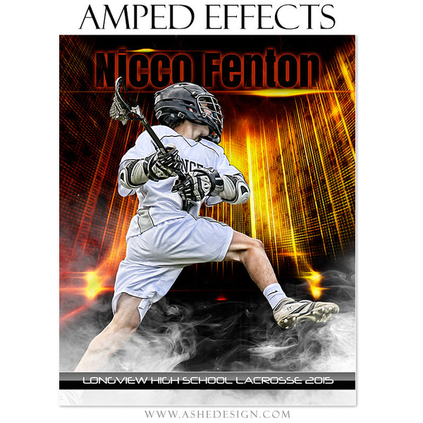 Ashe Design | Amped Effects Sports Templates | Allstar Arena lacrosse