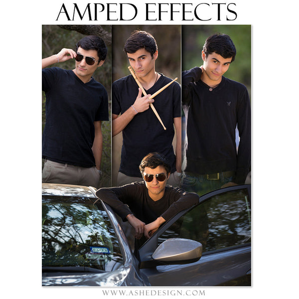 Amped Effects | Faded Triptych sr boy