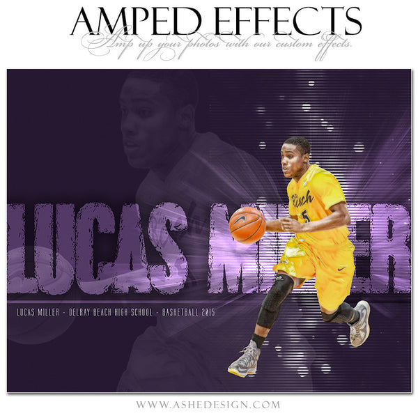Ashe Design | Amped Effects Sports Templates | Rising Star basketball