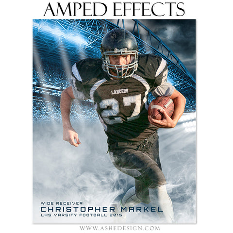 Amped Effects Sports Templates | Smokey Stadium fb
