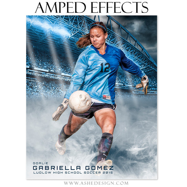 Amped Effects Sports Templates | Smokey Stadium soccer