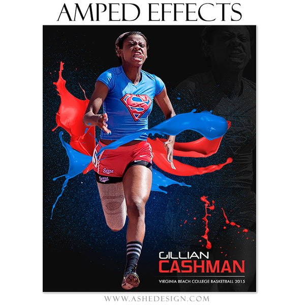 Ashe Design | Amped Effects Sports Templates | Paint Ball track