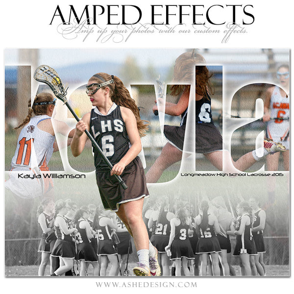 Ashe Design | Amped Effects Sports Templates | Between The Lines lacrosse