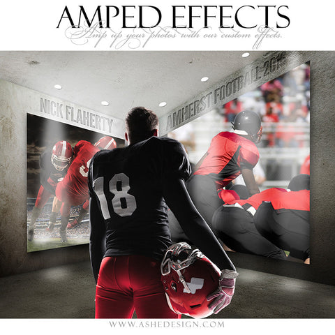 Ashe Design | Amped Effects | Photoshop Templates | Sports Posters | Induction