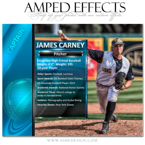 Amped Effects | Sports Segment Baseball