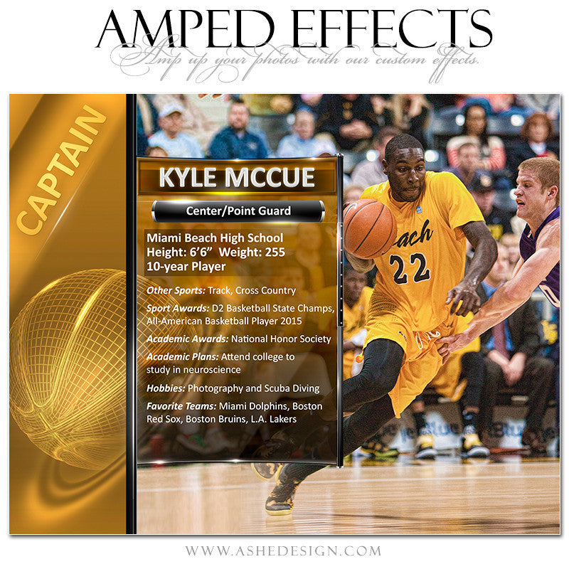 Amped Effects | Sports Segment Basketball