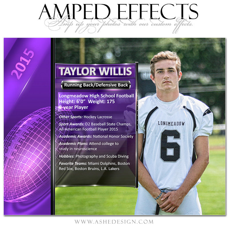 Amped Effects | Sports Segment Football