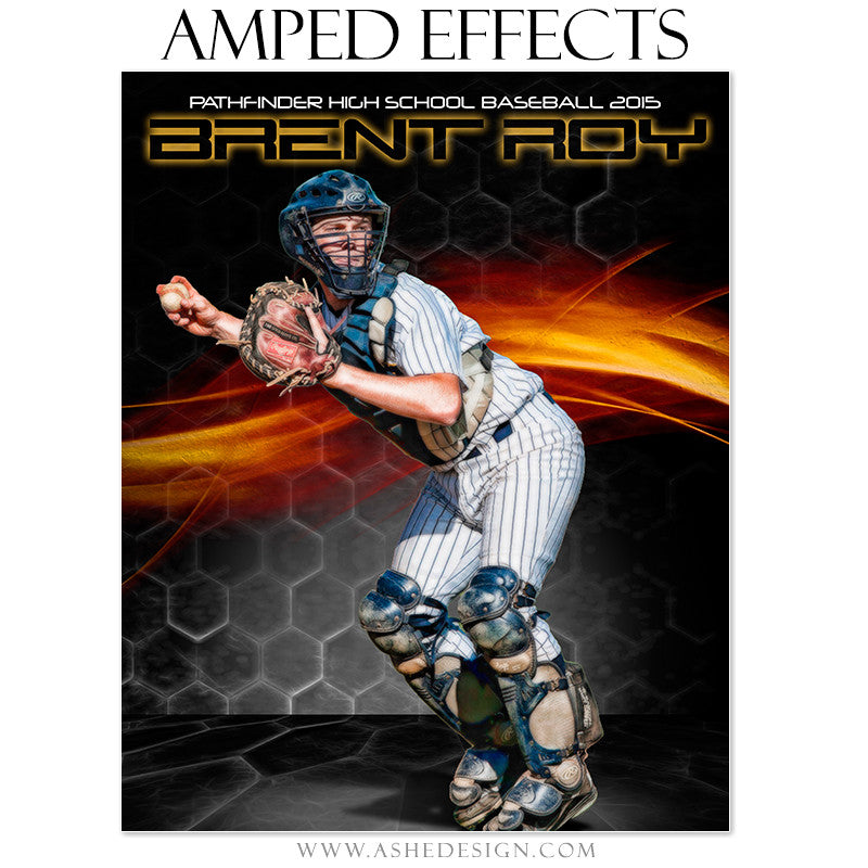 Ashe Design | Amped Effects Sports Templates | Straight Fire baseball2