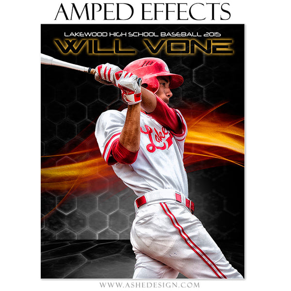 Ashe Design | Amped Effects Sports Templates | Straight Fire baseball1