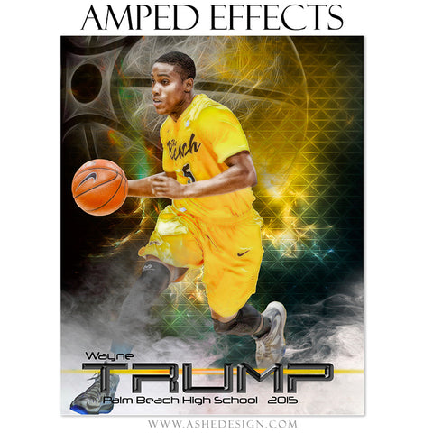Ashe Design | Amped Effects Sports Templates | Winning Streak Basketball