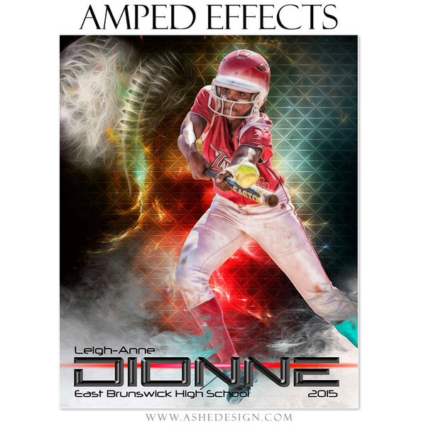 Baseball/Softball Amped Effects Sports Template