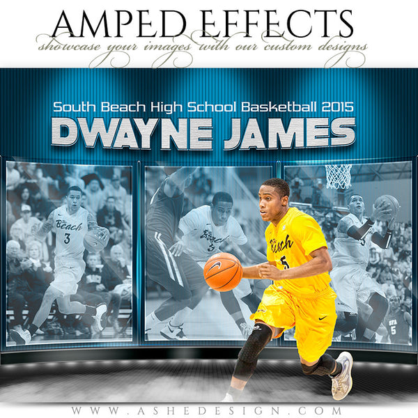 Ashe Design | Amped Effects Sports Templates | Dark Knightbktb