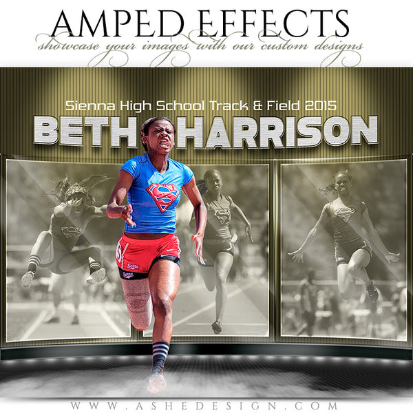 Ashe Design | Amped Effects Sports Templates | Dark Knight track