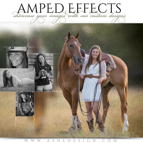 Amped Effects Templates | Faded Felt