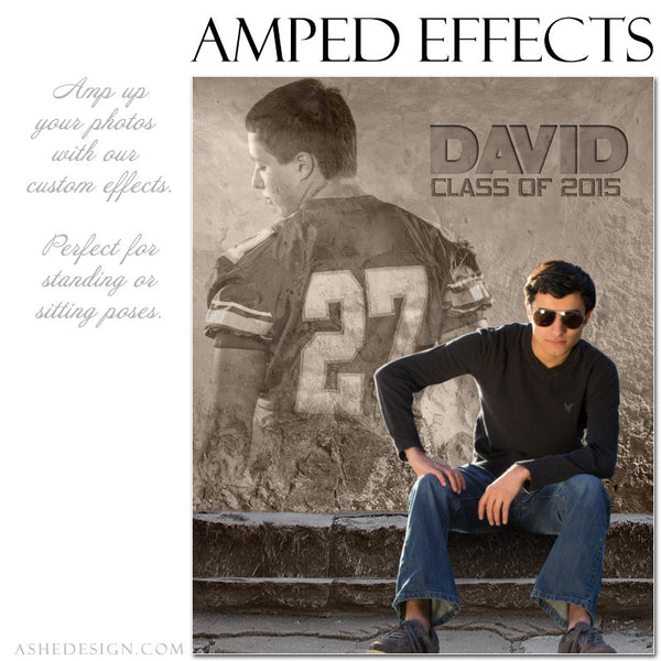 Ashe Design | Amped Effects Photography Templates | Rock Wall 2