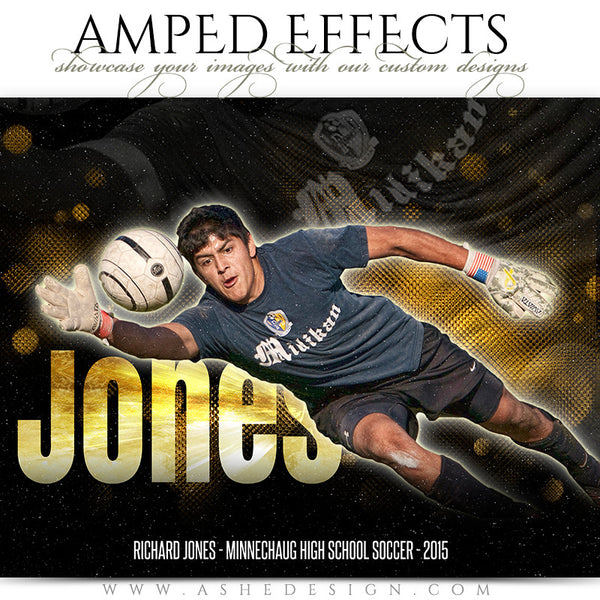 Amped Effects Sports Templates | Shine Bright soccer