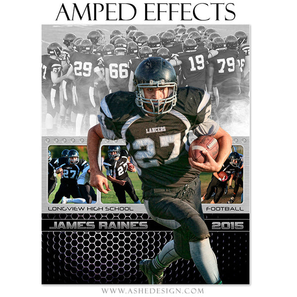 Ashe Design | Amped Effects Sports Templates | Game Changer fb