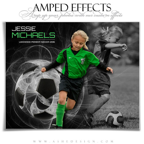 Ashe Design | Amped Effects | Sports Poster | Mystic Explosion Soccer