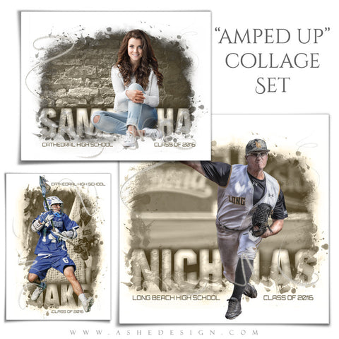 Ashe Design | Amped Up Collages | Center Of Attention