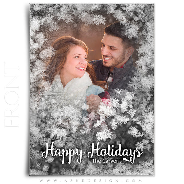 Christmas Card 5x7 Flat | Frosted Flakes front
