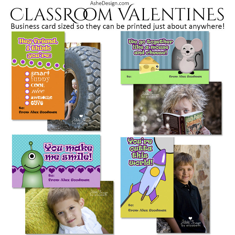 Ashe Design | Classroom Valentines | My Funny Valentine