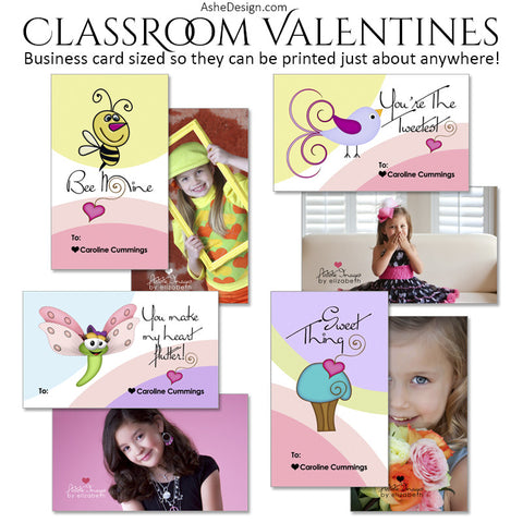 Ashe Design | Classroom Valentines | Simply Sweet