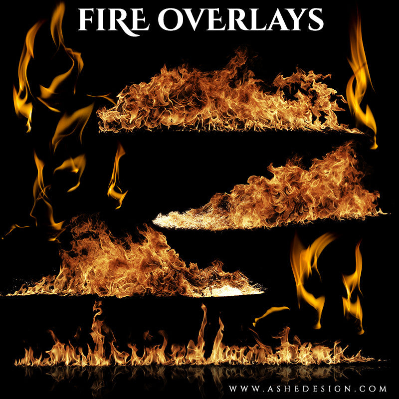 Ashe Design | Fire Overlays