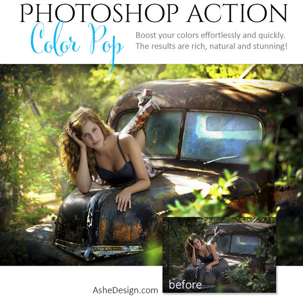 Photoshop Action | Pure Palette - Color Pop3