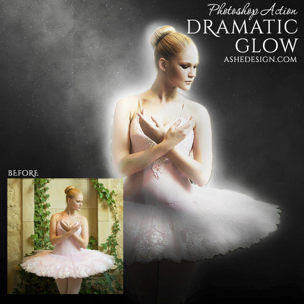 Photoshop Action | Dramatic Glow ballet