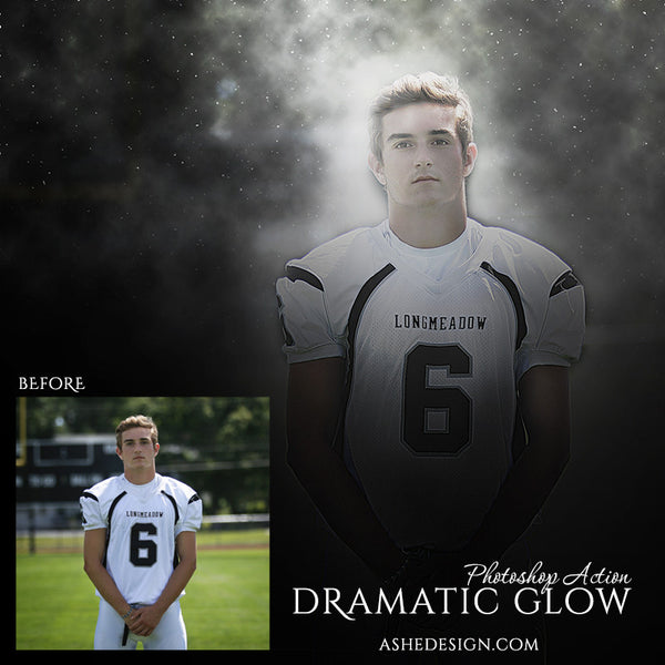 Photoshop Action | Dramatic Glow fb