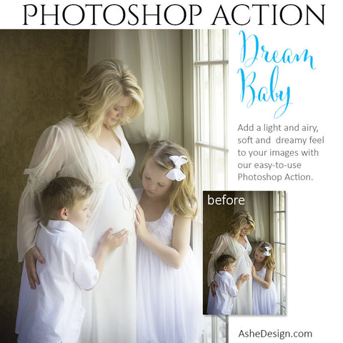 Photoshop Action | Pure Palette - Dream Baby2
