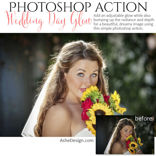 Ashe Design | Photoshop Action | Wedding Day Glow1