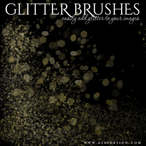 Designer Gems Photoshop Brush Set | Glitter