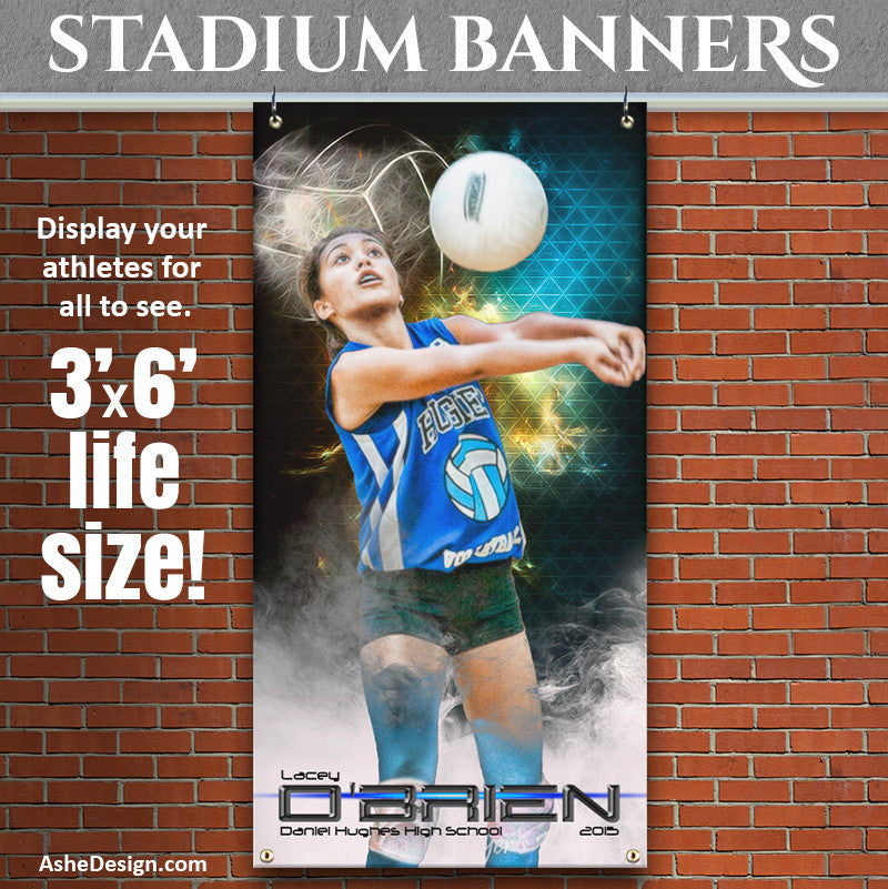 Winning Streak Volleyball 3'x6' | Amped Stadium Banner
