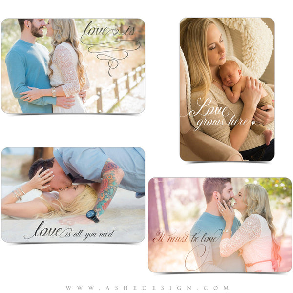 Ashe Design | Word Art Overlays | Love Is1